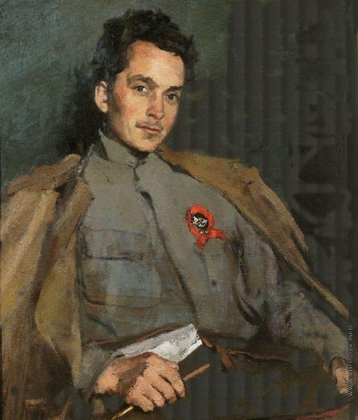 Малютин С. В. Портрет Д.А.Фурманова