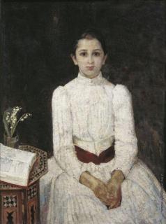 Малютин С. В. Портрет девочки