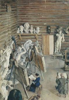 Малютин С. В. Скульптурная мастерская