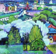 Машков И. И. Городской пейзаж