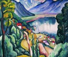 Машков И. И. Женевское озеро. Глион