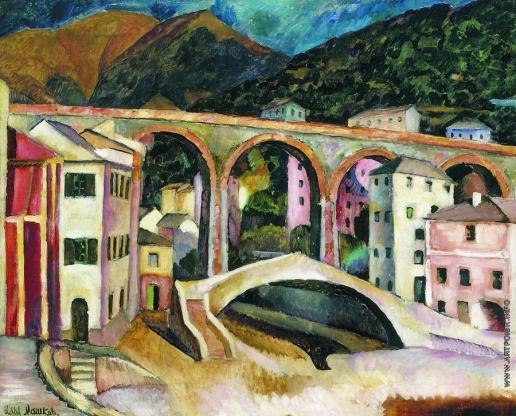 Машков И. И. Италия. Нерви. Пейзаж с акведуком