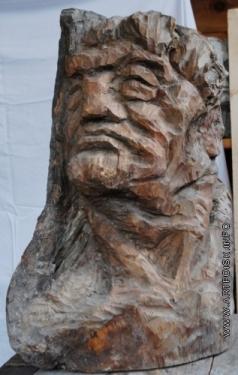 Абакумцев Н. И. Мужская голова