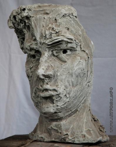Абакумцев Н. И. Голова солдата