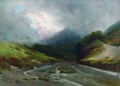 Мещерский А. И. Альпийская река