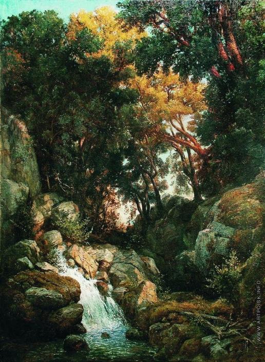 Мещерский А. И. Водопад