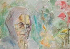 Абакумцев Н. И. Портрет матери