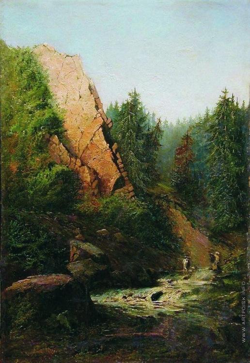 Мещерский А. И. Горная река
