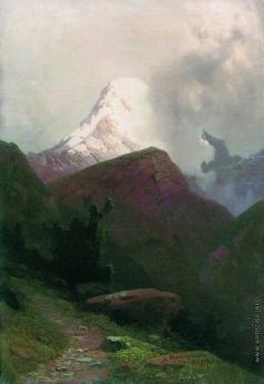 Мещерский А. И. Горная тропа