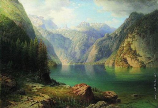 Мещерский А. И. Горное озеро