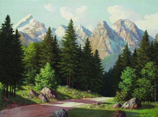 Мещерский А. И. Горный пейзаж