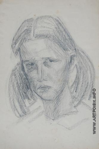 Абакумцев Н. И. Портрет Натальи Никоновой