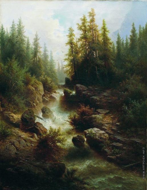 Мещерский А. И. Горный поток