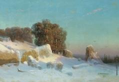 Мещерский А. И. Зимний пейзаж
