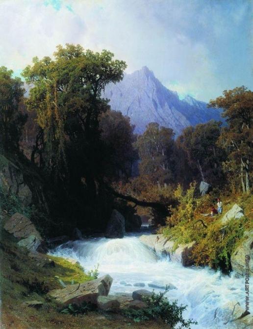 Мещерский А. И. Кавказ