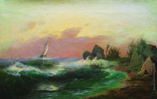 Мещерский А. И. Морской пейзаж