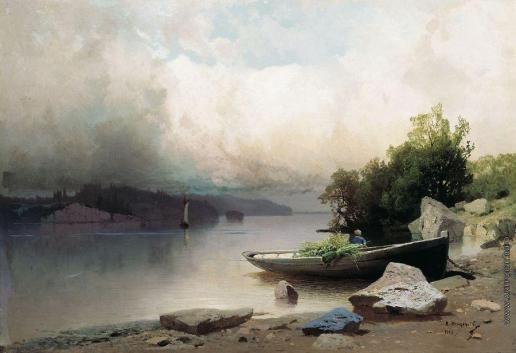 Мещерский А. И. На реке