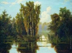 Мещерский А. И. Пейзаж с озером