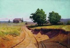 Мещерский А. И. Пейзаж. Дорога в поле