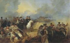 Микешин М. О. Сражение при Монмирале