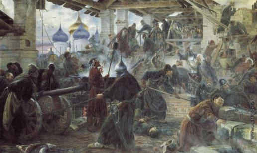 Милорадович С. Д. Оборона Троице-Cергиевой лавры