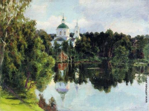 Милорадович С. Д. Часовня у пруда