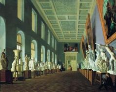 Михайлов Г. К. Вторая античная галерея в Академии художеств