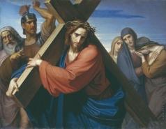 Моллер Ф. А. Несение креста