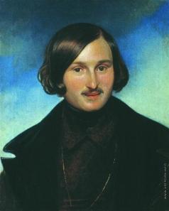 Моллер Ф. А. Портрет писателя Н.В.Гоголя