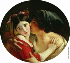 Моллер Ф. А. Поцелуй