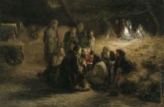 Мясоедов Г. Г. Чтение Положения 19 февраля 1861 года