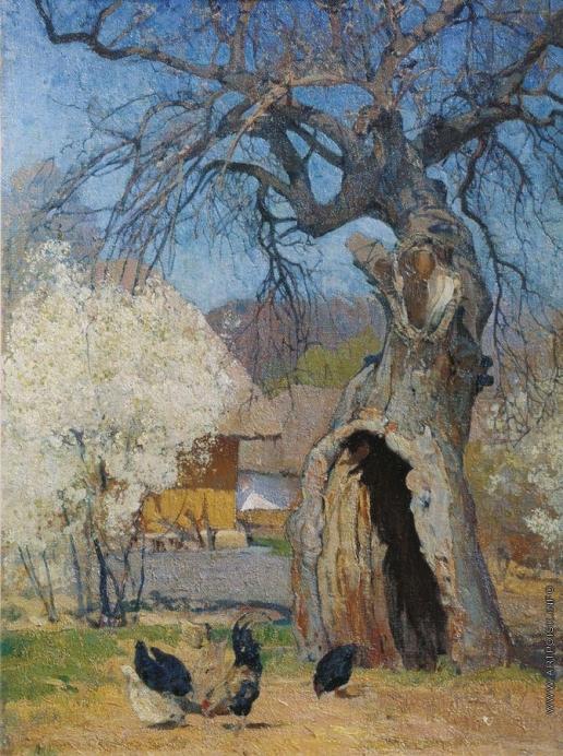 Мясоедов И. Г. Дуплистое дерево