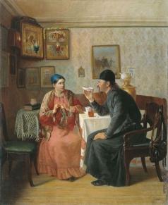 Наумов А. А. Чаепитие