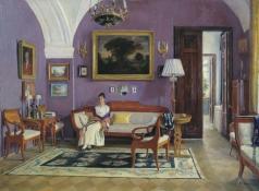 Нерадовский П. И. Мои комнаты (В комнатах)