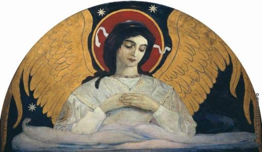 Нестеров М. В. Ангел печали. 1899-