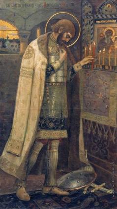 Нестеров М. В. Благоверный князь Александр Невский. 1894-