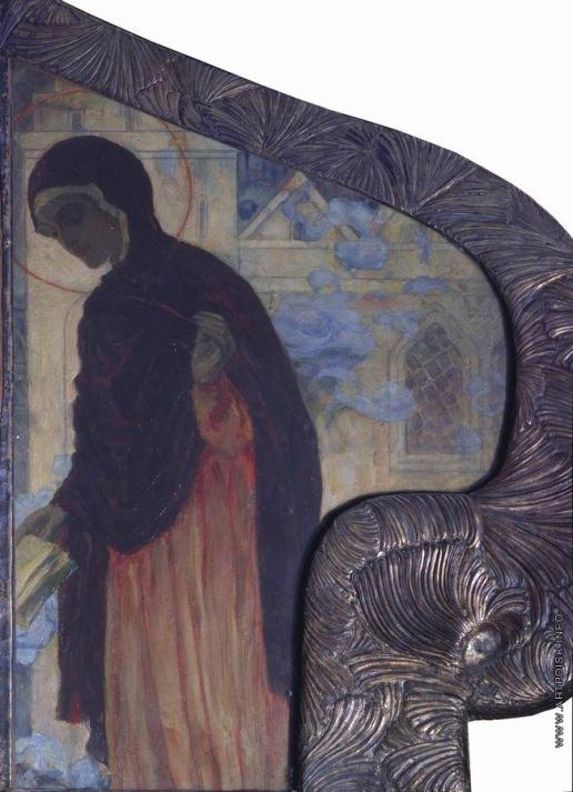 Нестеров М. В. Благовещение. Дева Мария
