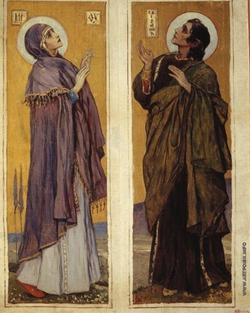 Нестеров М. В. Богоматерь и Святой Иоанн