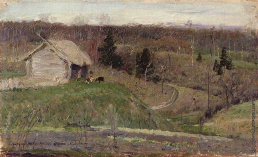 Нестеров М. В. Весенний пейзаж
