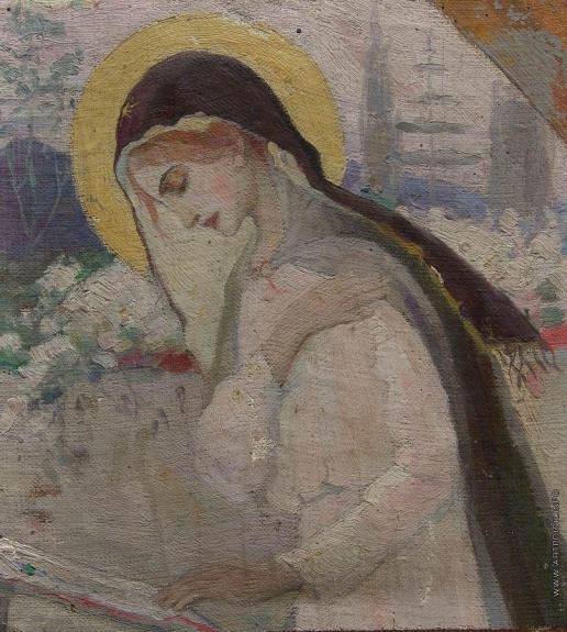 Нестеров М. В. Дева Мария