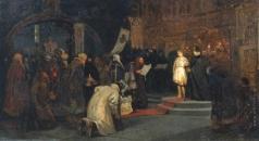 Нестеров М. В. Избрание Михаила Федоровича на царство (Призвание Михаила Федоровича на царство)