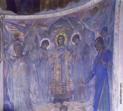 Нестеров М. В. Литургия ангелов