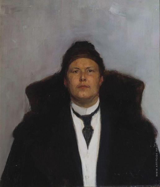 Нестеров М. В. Мужской портрет