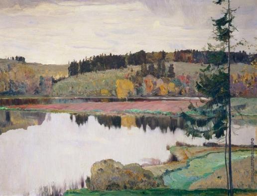Нестеров М. В. Осенний пейзаж