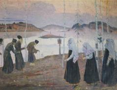Нестеров М. В. Отцы-пустынники и жены непорочны