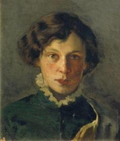 Нестеров М. В. Портрет М.И.Нестеровой, первой жены художника