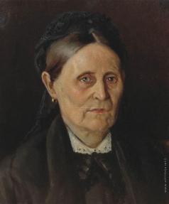 Нестеров М. В. Портрет М.М. Нестеровой
