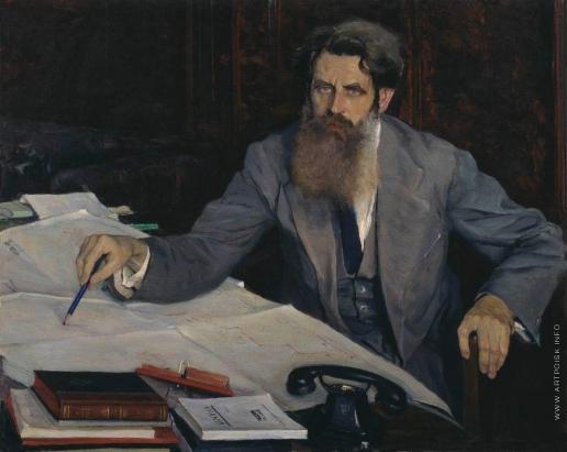 Нестеров М. В. Портрет Отто Юльевича Шмидта