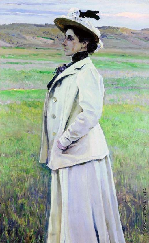 Нестеров М. В. Портрет княгини Н.Г.Яшвиль