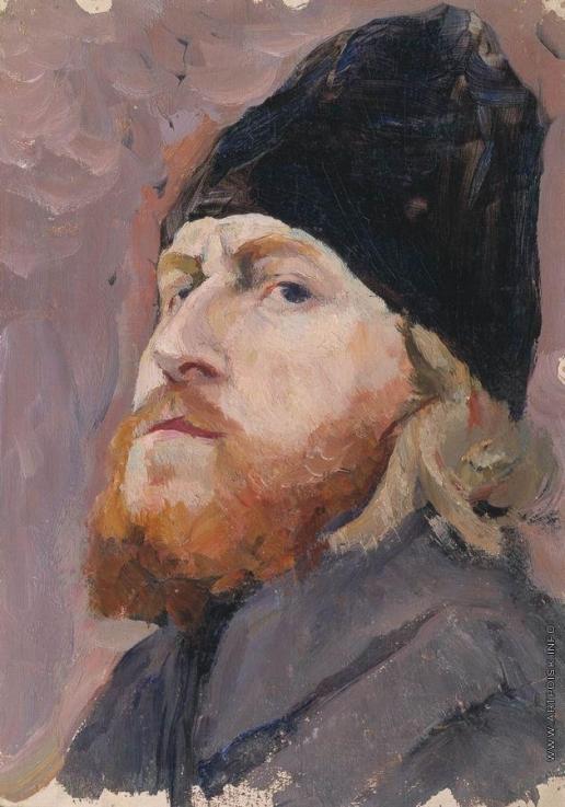 Нестеров М. В. Портрет протодьякона Михаила Кузьмича Холомогорова